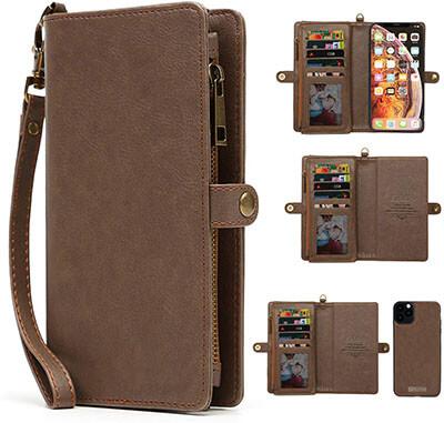 KelaSip Leather iPhone 11 Pro Wallet Case
