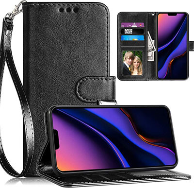 Youcover iPhone 11/XI Pro Wallet Case with Kickstand