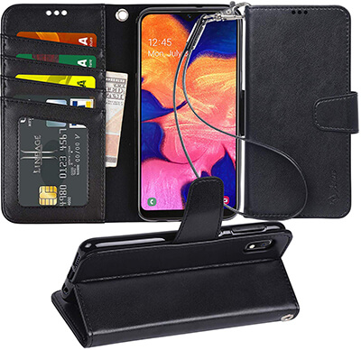 Arae Wallet Case for Samsung Galaxy A10E