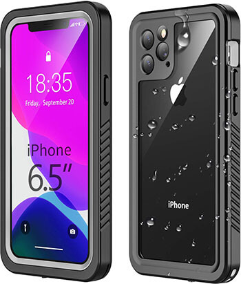 Temdan Waterproof iPhone 11 Pro Max Case