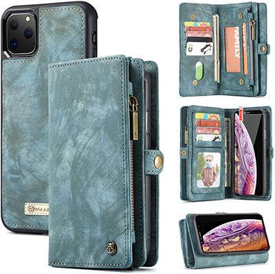 Zttopo 2 in 1 Detachable Magnetic 11 iPhone 11 Pro Wallet Case