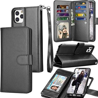 Tekcoo Folio Flip Wallet Case for iPhone 11 Pro / iPhone11 Pro