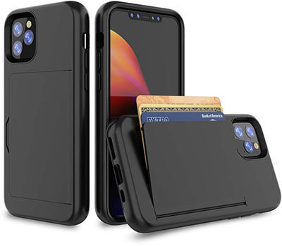 TQHH iPhone 11 Pro Max 6.5 Inch Wallet Case