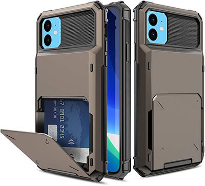 Yunerz Compatible iPhone 11 Wallet Case