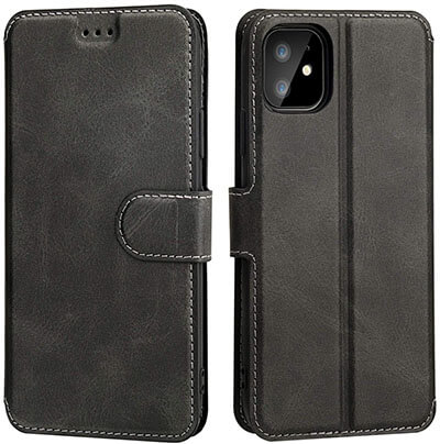 OT ONETOP iPhone 11 Slim Flip Wallet Case