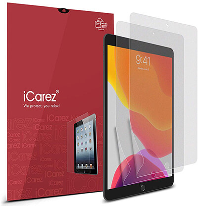 iCarez Matte iPad 10.2 Screen Protector