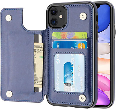 MMHUO Wallet Case for iPhone 11