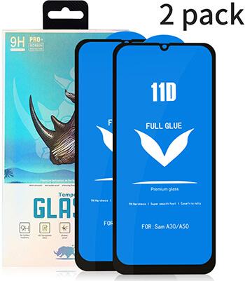 Ehuntec Samsung A50 Tempered Glass Screen Protector
