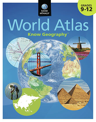 Know Geography World Atlas Grades 9-12 by Rand McNally