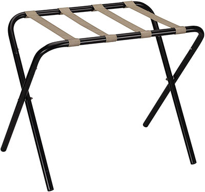 Household Essentials Foldable Luggage Rack