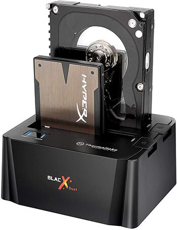 Thermaltake BlacX Duet USB 3.0 External HDD Enclosure Docking Station