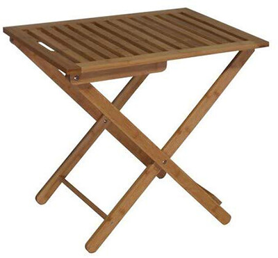 Proman Products Bamboo Luggage Rack