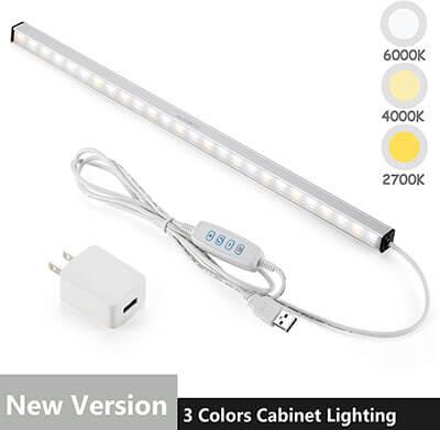 ASOKO LED Under Cabinet Lighting Bar
