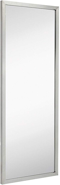Hamilton Hills Commercial Restroom Full Length Wall Mirror