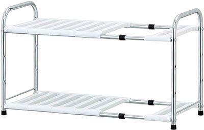 Furinno WS17014 Wayar Adjustable Under Sink Shelf