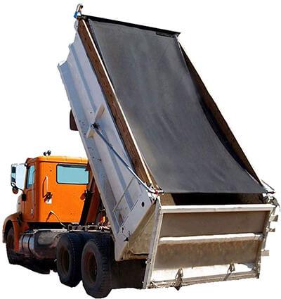 Leaveshade Dump Truck Mesh Tarp 7'X16'
