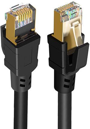 CableCreation 40 Gigabit 2000MHz Network LAN Patch Cord