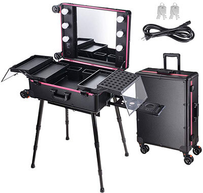 AW Rolling Makeup Case