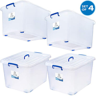 Randomgrounds Large Durable Storage Box 24 Gal