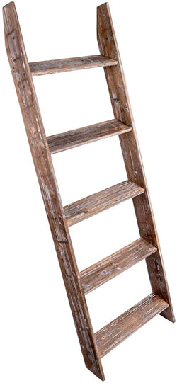 Simply Superlative Wooden Blanket Ladder