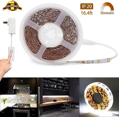 MY BEAUTY LIGHT LED Strip Lights Dimmable Rope Light