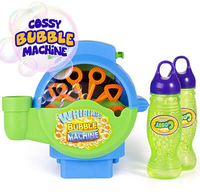 Cossy Bubble Hurricane Machine for Kids
