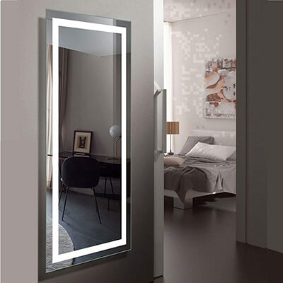 DECORAPORT Large LED Full Length Backlit Mirror
