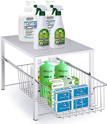 Simple Trending Under Sink Cabinet Organizer