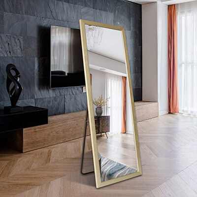 BOLEN Full Length PS Polymer Frame Mirror