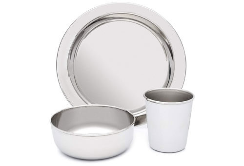 Top 10 Best Stainless Steel Dish Set for Kids in 2019