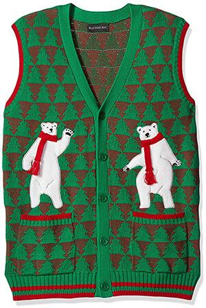 Blizzard Bay Men's Ugly Christmas Sweater Vest