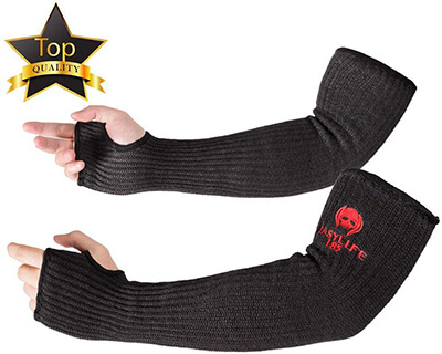 EasyLife185 Kevlar Sleeves Arm Protection Sleeves