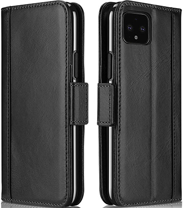 ProCase Google Pixel 4 XL Magnetic Closure Genuine Leather Case