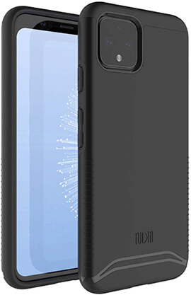 TUDIA Heavy Duty Extreme Protection Rigged Google Pixel 4 Case