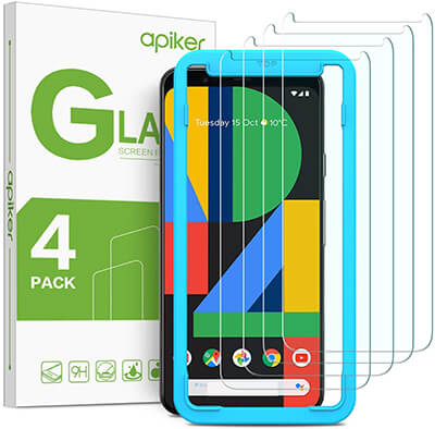 Apiker Google Pixel 4 Tempered Glass Screen Protector