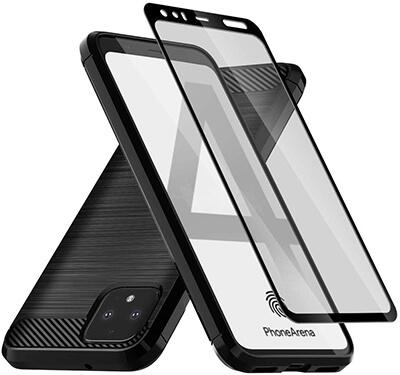 Muokctm Slim Soft Pixel 4 Case Rubber Bumper Case Cover