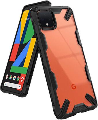 Ringke Fusion X Google Pixel 4 Hard PC Case