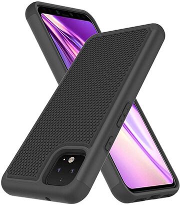 Muokctm Hybrid Defender Protective Goggle Pixel 4 Cover