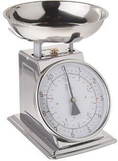 Analog Kitchen Scale