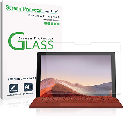 Amfilm Screen Protector for Surface Pro 7, 6, 5, and 4