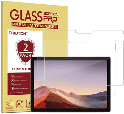 OMOTON Screen Protector for Surface Pro7, 6, 5 and 4