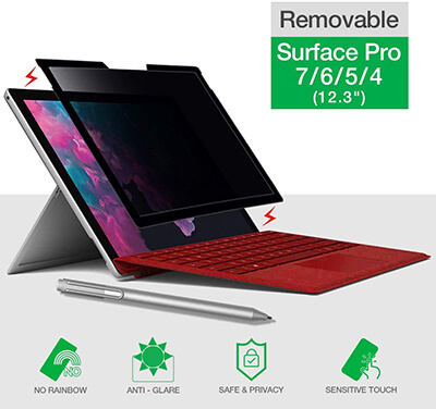 Bylure Surface Pro-privacy Screen Protector