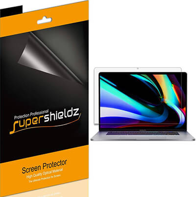 Supershieldz Apple MacBook Pro 16 inch screen protector