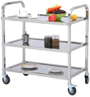 Stainless Steel Kitchen Cart