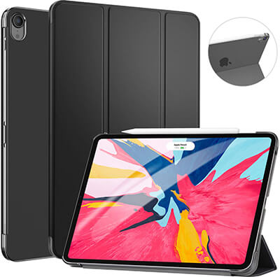 Ztotop Slim Lightweight Trifold Stand Smart Shell iPad Pro 11 Case