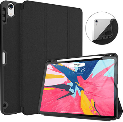 Soke iPad Pro 11'' 2018 Case with Pencil Holder