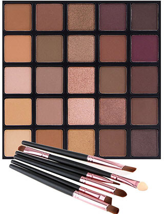 Vodisa Matte and Shimmer Eyeshadow Palette
