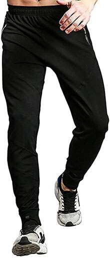TBMPOY Men's Athletic Running Sport Jogger Pants