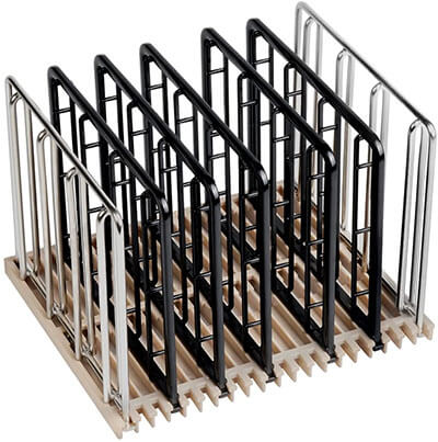 Weight-Added Sous Vide Rack Divider for Sous Vide Even Heating by EVERIE