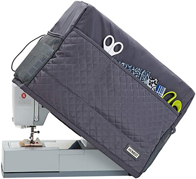 HOMEST Quilted Sewing Machine Dust Cover
